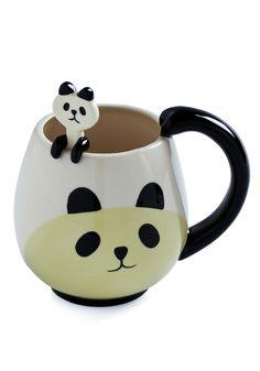 Panda Fancy Mug Set - super cute spoon!