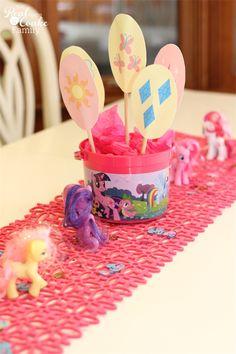 poni birthday, birthday parties, food decorating, parti realcoak, mlp birthday