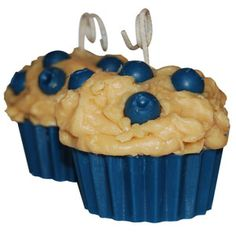 Blueberry Muffin Candle Recipe