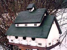 2 story stable Birdhouse