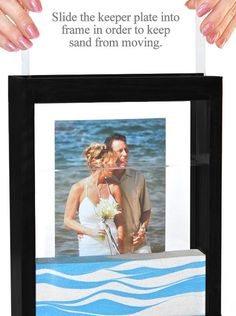 Unity sand frame #keepsake #wedding