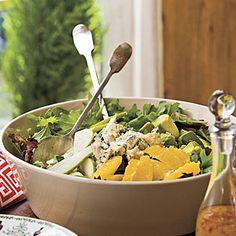 Basil-and-Blue Cheese Salad | MyRecipes.com