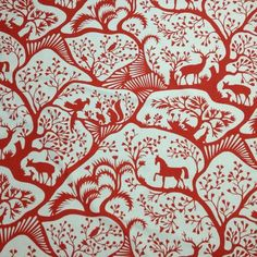 Forest by Thomas Paul for Duralee pillows?