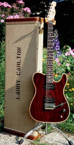 Famed session guitarest Larry Carlton's Valley Arts Tele...
