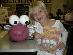 Love this idea--pumpkin book character project!  LOVE fly GUY!  Precious!!!