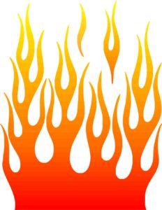 Free Printable Harley Stencils | Wildfire Flame Stencil Basic Stencils ...