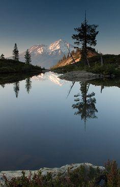 Hart Lake - Mt Shasta National Park, California.