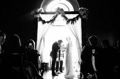 Molly + Asher wedding shot by Heather Kincaid