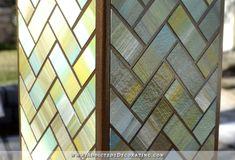 Un rivestimento che simula il vetro colorato