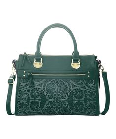 Floral Cutout Tote