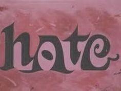 art paintings, hate, loveh relationship, inspir quot, word art