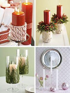 I like the pine wrapped candle holder