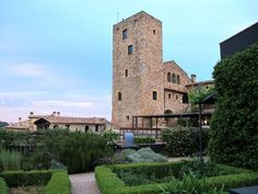castell-d-emporda-gardens-tower