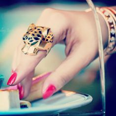 cartier ring.