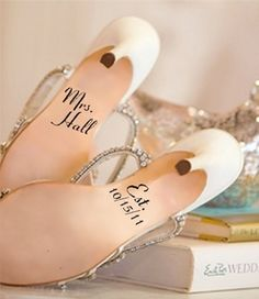 this will be happening on my ceremony shoes!