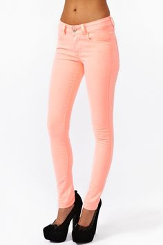 pink Skinny Jeans Have these...love them.