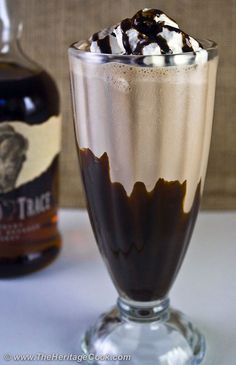 Double Chocolate Bourbon Milkshakes!