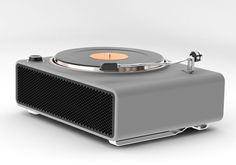 Record Player inspired by Porsche 911.