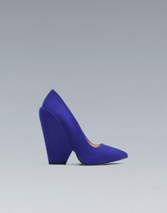 WEDGE COURT SHOE - ZARA United Kingdom