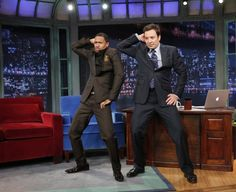 Nick Cannon And Jimmy Fallon | GRAMMY.com