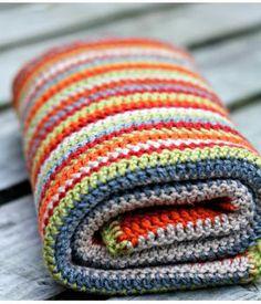 handmade crochet woolen baby blanket