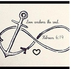 rib tattoo.. I want this phrase used when I get my anchor