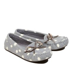 Cassie P.- Social Media Wishlist Pick: Aerie Cozy Dot Moc Slipper