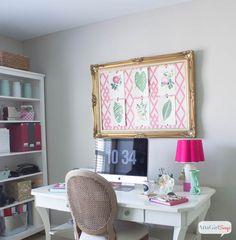 Craft Room Ideas & H