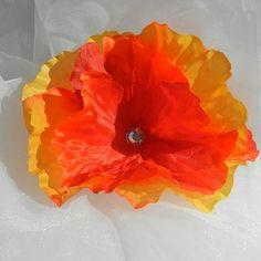 Orange Red Puentas Hair Clip Headband you by beautifulswagstore, $7.50 #handmadebot #boebot #hmcspooky #teamsellit