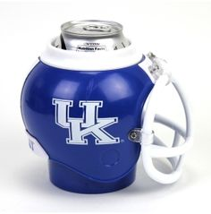 Kentucky Helmet coozie
