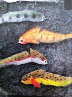 Articulated Swim Flies for serial killer picivores!