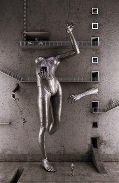 Adam Martinakis digital art: the woman - 2011