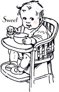 **FREE ViNTaGE DiGiTaL STaMPS** ~ Sweet Baby