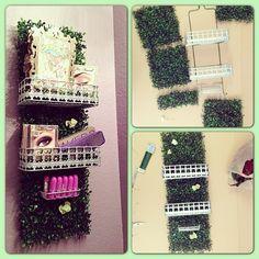 grassy wall caddy!