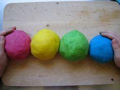 Silky play dough