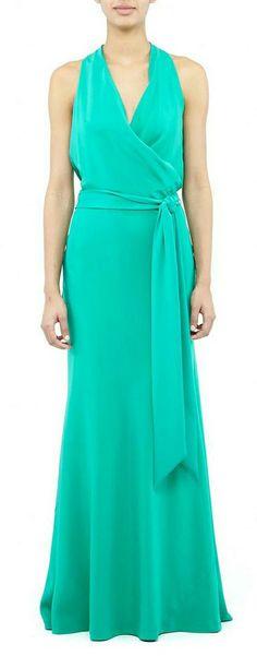 Pretty Green Gown