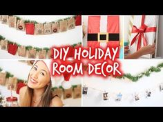 DIY Holiday Room Dec