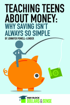 Teaching Teens About Money - Why Saving Isn't Always So Simple #education #parenting #highschool