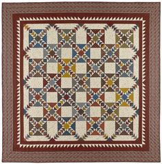Kennesaw Mountain Pattern by Red Crinoline Quilts
