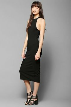 Silence + Noise Freya Halter Midi Dress