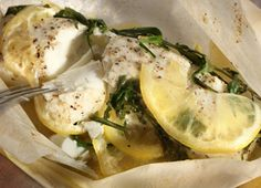Basic fish in parchment recipe
