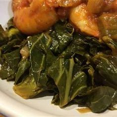 "Sweet and Tangy Sauteed Collard Greens | ""We keep getting Collards in our CSA box, and this is the best recipe I've found for them so far. I really like the slight sweetness from the honey. We'll make this again."""