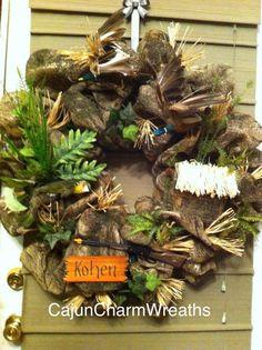 Wildlife wreath