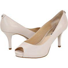 peep toe, open toe, michael kor, bridesmaid
