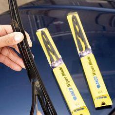 How to change wiper blades. #DIY