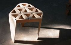 Star by nakarin kamseela of deesawat industries, #triangle, #furniture