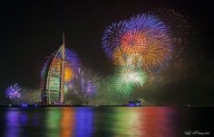 Dubai's World Record Breaking Fireworks Show - My Modern Metropolis