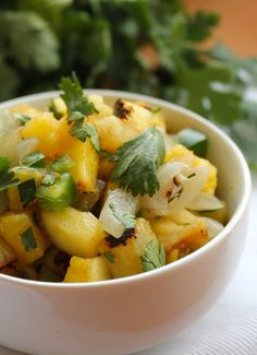Grilled Pineapple Salsa by Zenbelly