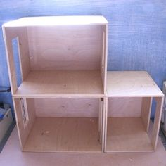 Make room boxes with Baltic wood