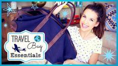 My Travel Bag Essentials! ✈